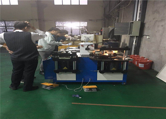 Fast Speed Industrial CNC Busbar Machine For Punching Bending Cutting