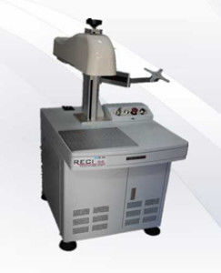 Metal / Plastic / Steel Fiber Laser Marking Machine , Laser Marking Equipment