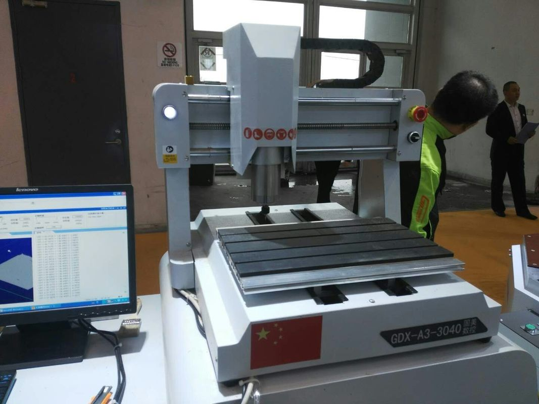3040 Desktop CNC Router Machine For Woodworking , Small CNC Wood Router