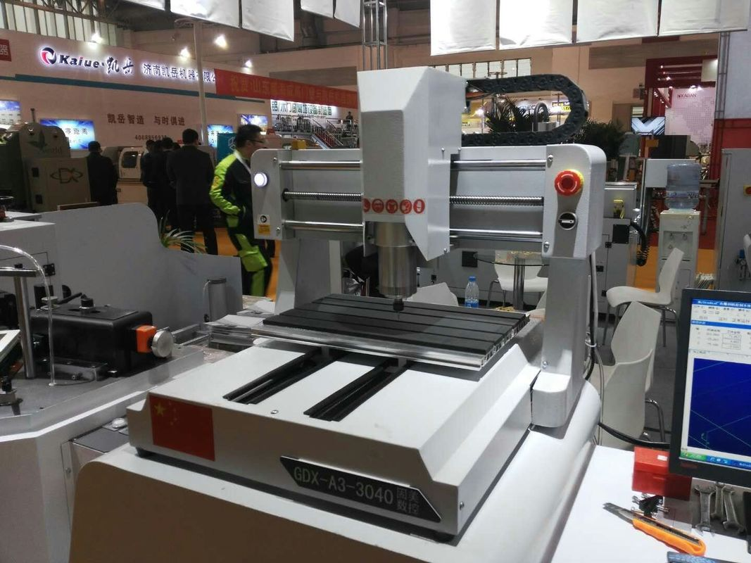 Precision Desktop CNC Router Machine With T Slot Table , Portable CNC Router
