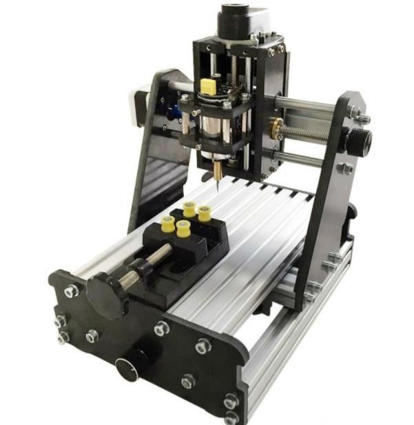 Hobby Desktop 3D 3 Axis CNC Router , CNC Wood Carving Router Machine