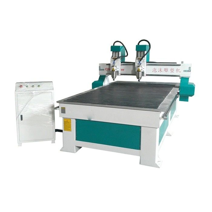 Ncstudio System Double Process 4 Axle Cnc Router Cutting Machine For Furniture Processing
